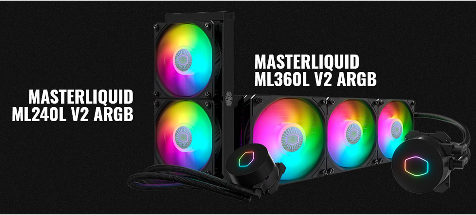 Tản nhiệt nước CPU Cooler Master MasterLiQuid ML240L ARGB V2 đem lại trải nghiệm phương pháp làm mát đầy màu sắc