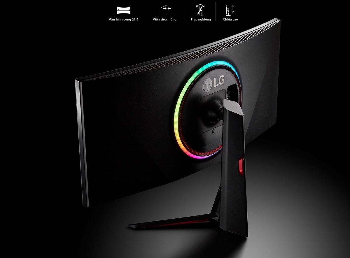 Màn hình LG 38GN950-B thiết kế sành điệu