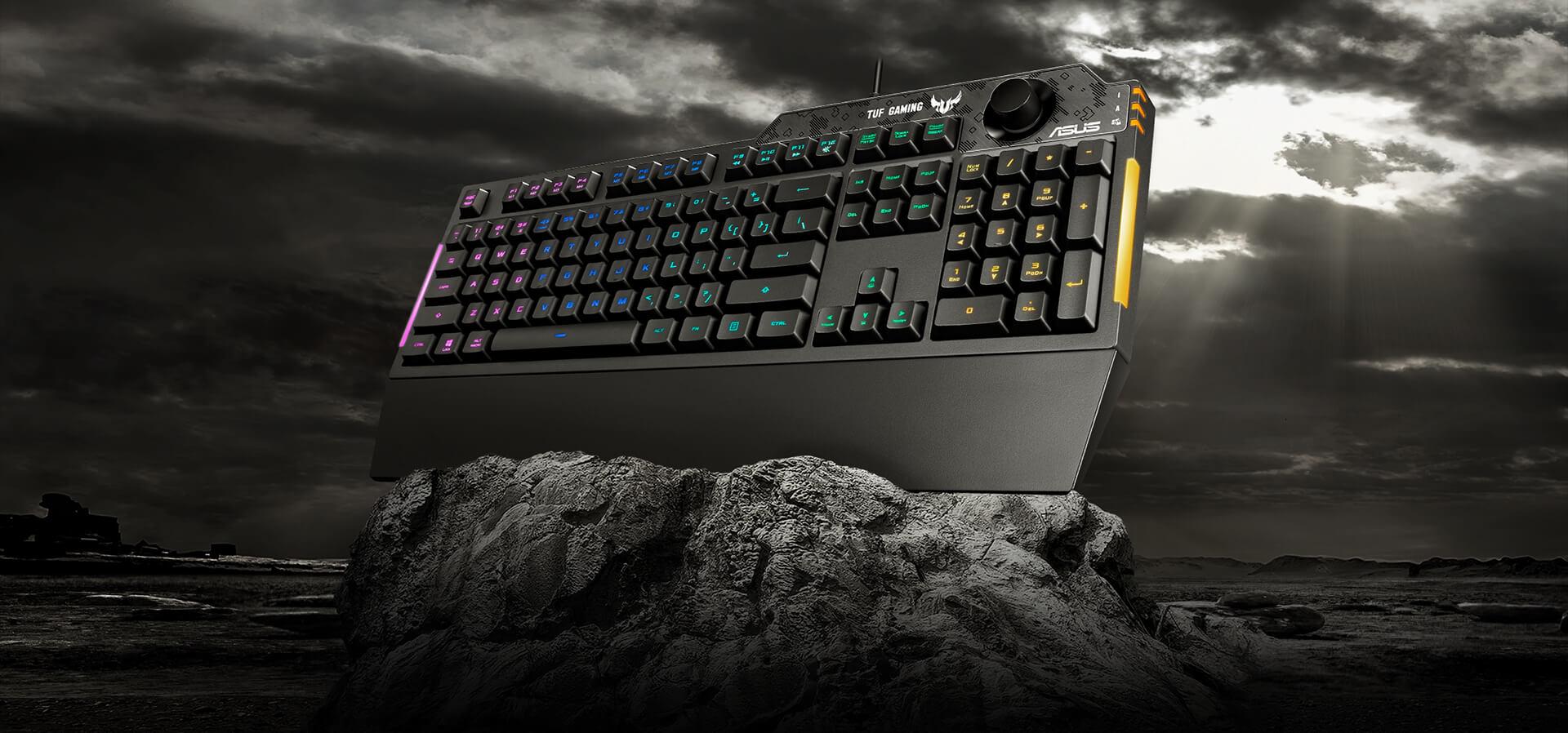 Giới thiệu Bàn phím Gaming Asus TUF K1 RGB