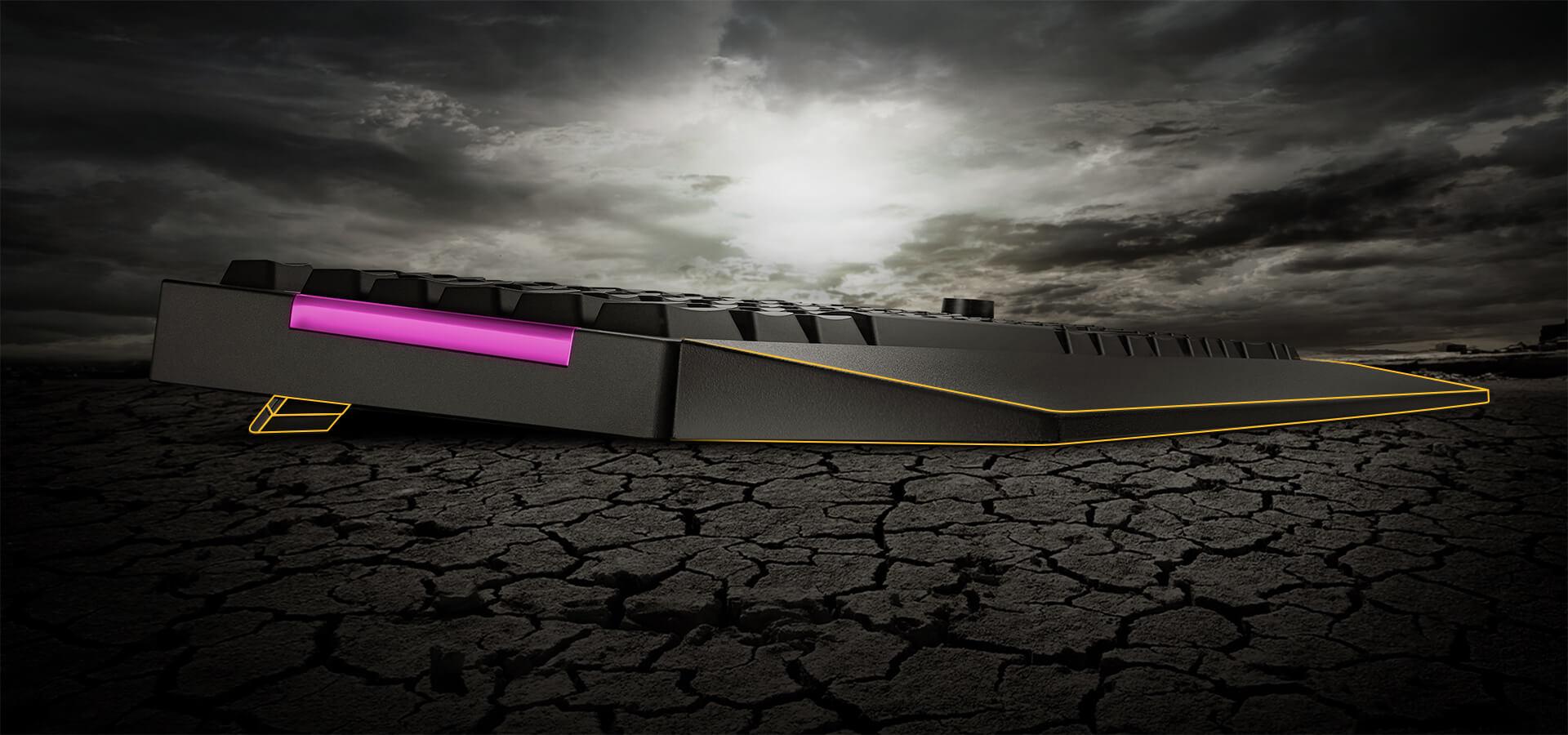 Kê tay và chân chống của Bàn phím Gaming Asus TUF K1 RGB