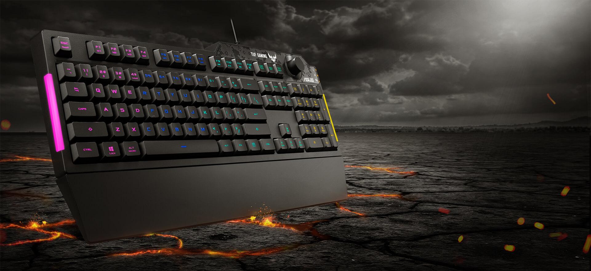 Bộ nhớ trong của Bàn phím Gaming Asus TUF K1 RGB