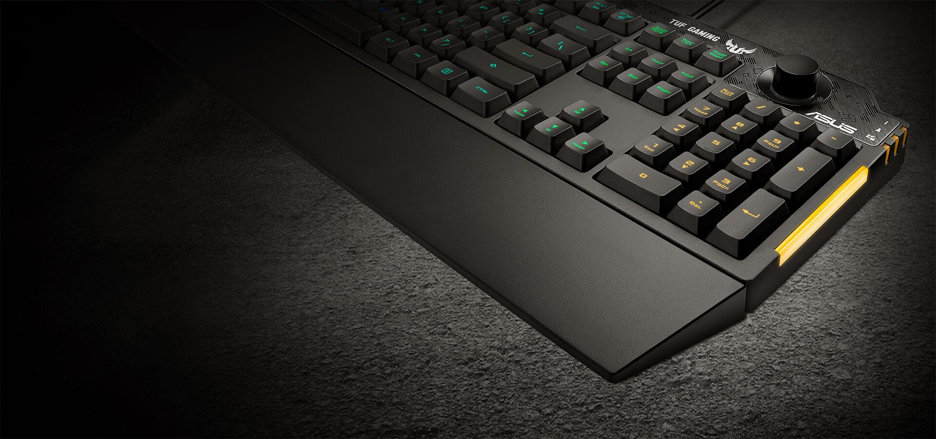 Công nghệ NKRO của Bàn phím Gaming Asus TUF K1 RGB