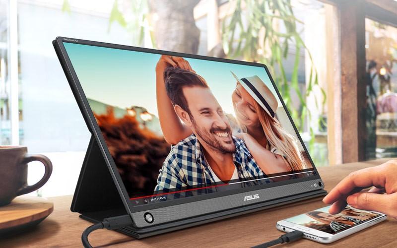 Màn hình di động Asus ZenScreen GO MB16AHP vỏ đẹp