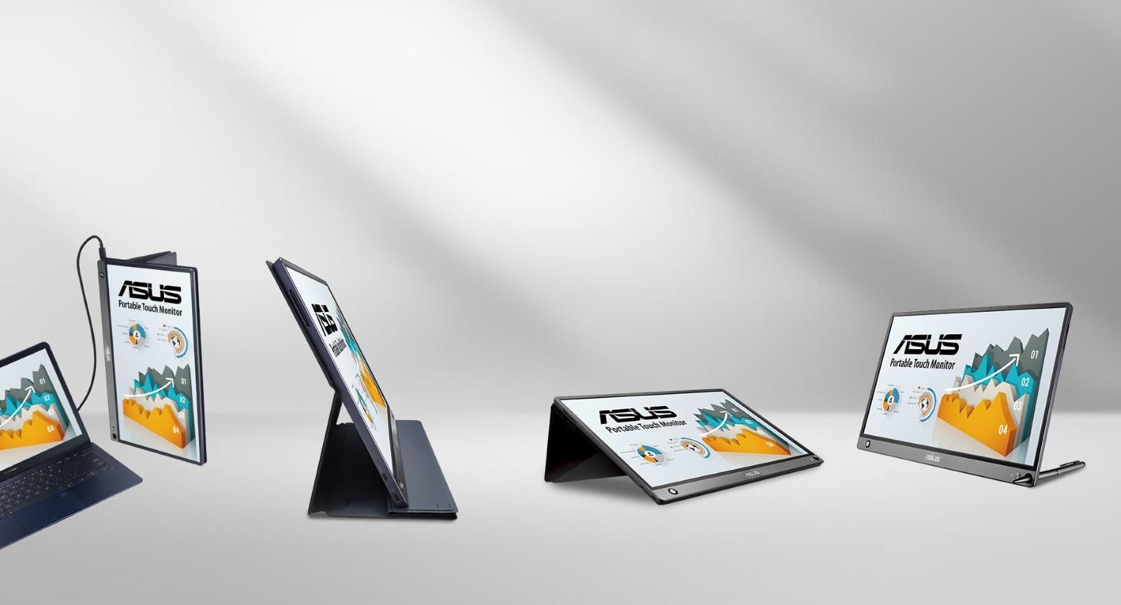 Màn hình di động Asus ZenScreen GO MB16AHP  di động cao