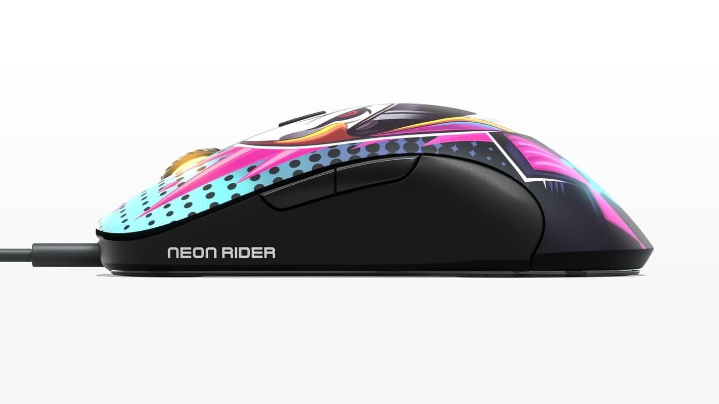 Chuột Chơi game SteelSeries Sensei Ten Neon Rider Edition (62528) (USB/RGB/NeonRider) có chất lượng build rất bền