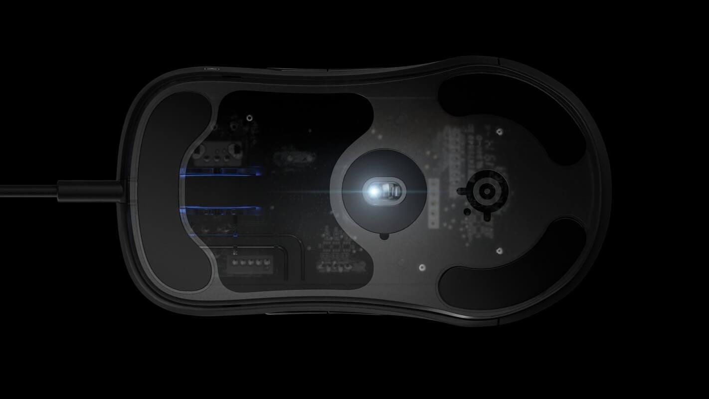 Hiệu năng mắt đọc của Chuột Chơi game SteelSeries Sensei Ten Neon Rider Edition (62528) (USB/RGB/NeonRider)