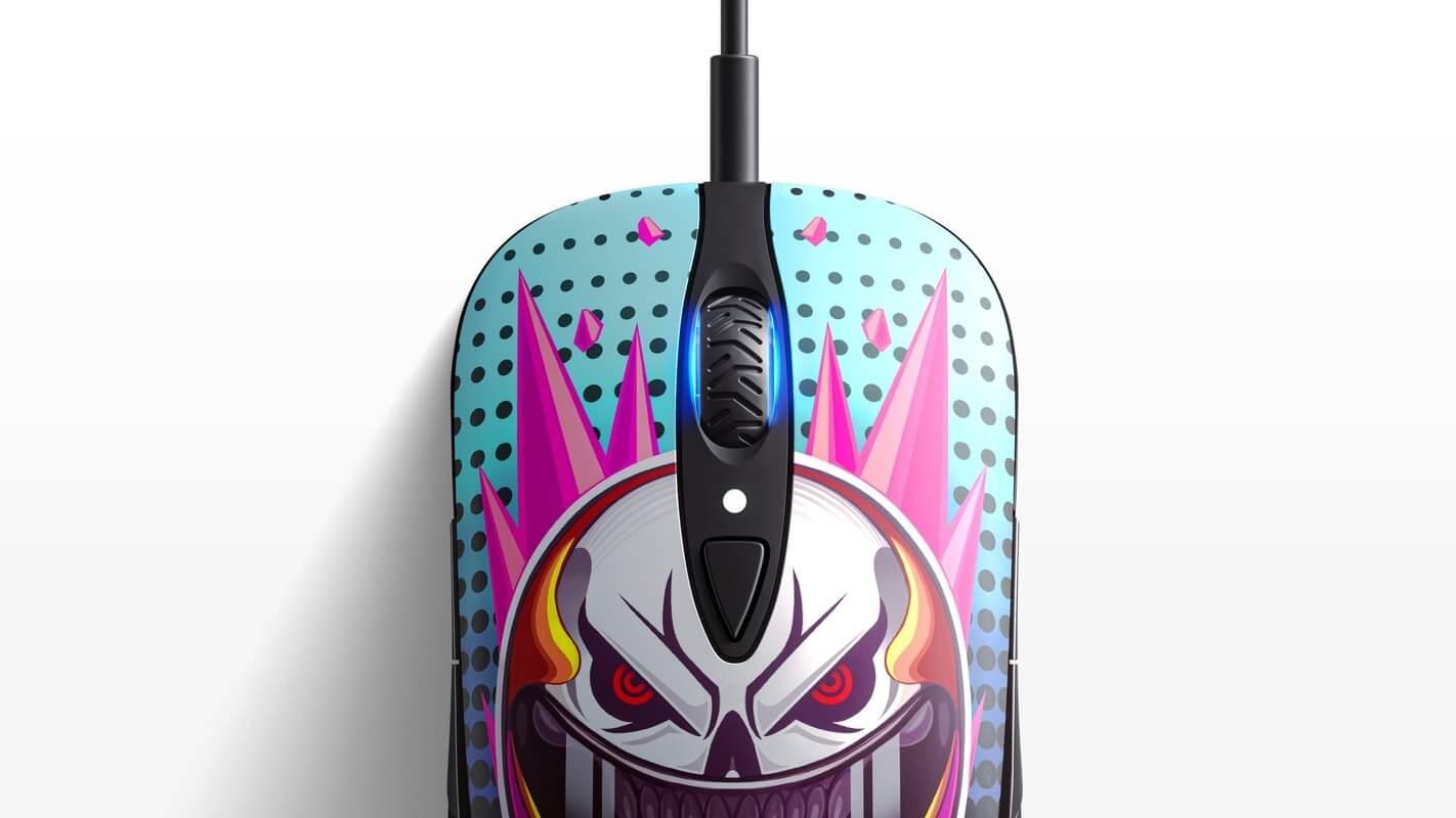 Nút bấm của Chuột Chơi game SteelSeries Sensei Ten Neon Rider Edition (62528) (USB/RGB/NeonRider) có độ bền cao
