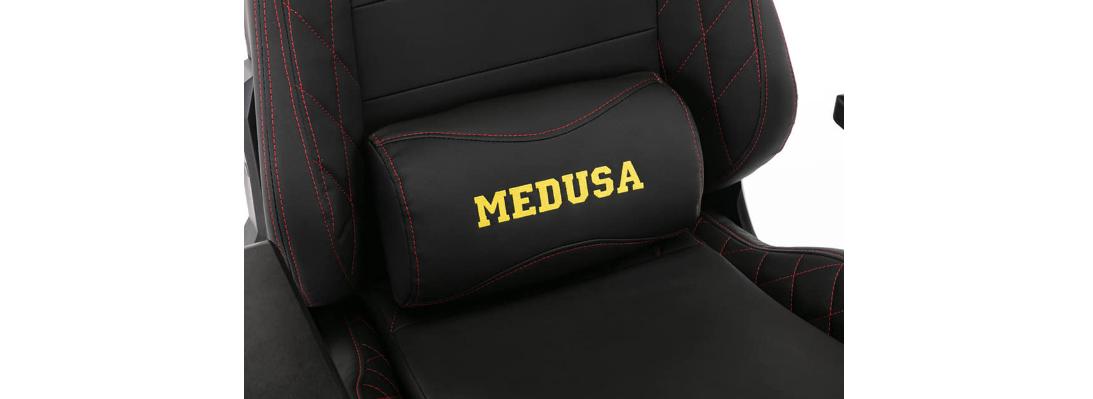Ghế Gaming E-Dra Medusa Black (EGC209) sử dụng da PU cao cấp