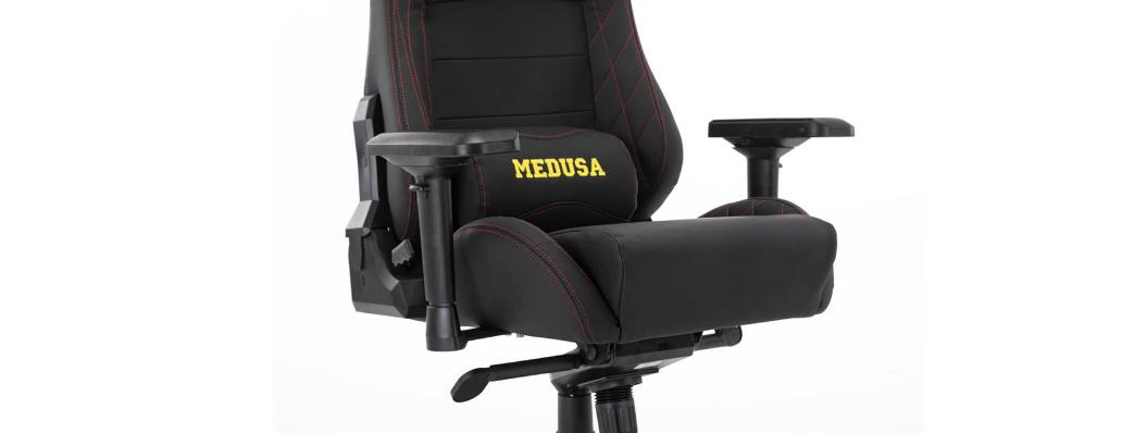 Ghế Gaming E-Dra Medusa Black (EGC209) có đệm ngồi siêu dày