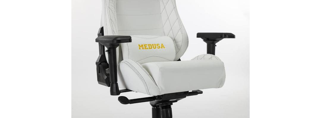 Ghế Gaming E-Dra Medusa White (EGC209) có đệm siêu dày