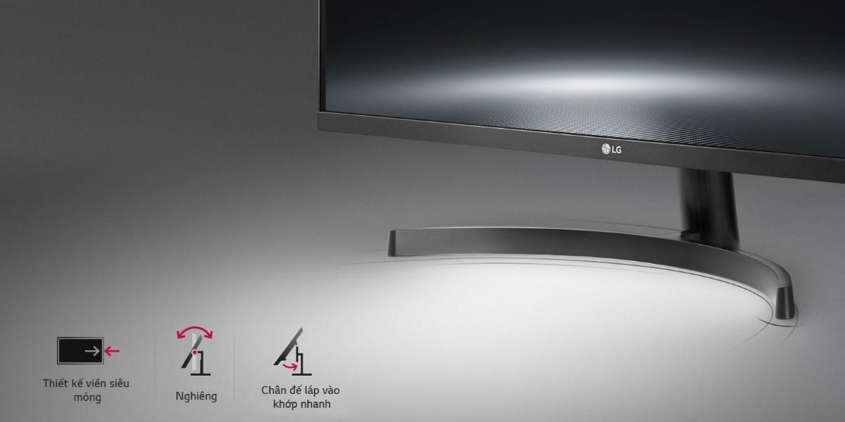 Màn hình LG 27QN600-B chân đế