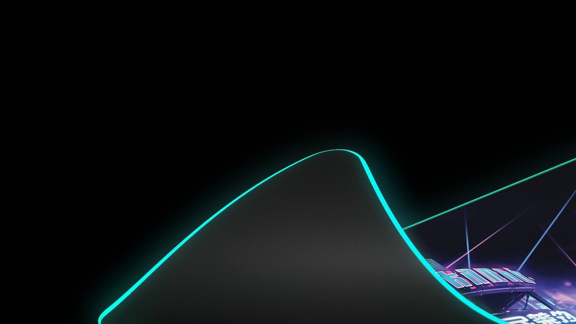 Bàn di chuột Steelseries Qck Prism(XL) Neon Rider - 63809 có đế cao su chống trượt chắc chắn tránh được chuyển động không mong muốn