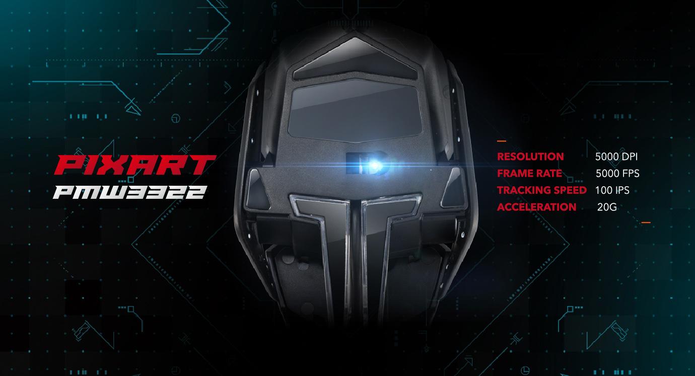 Chuột chơi game Madcatz Authentic R.A.T 2+ trang bị mắt cảm biến cao cấp