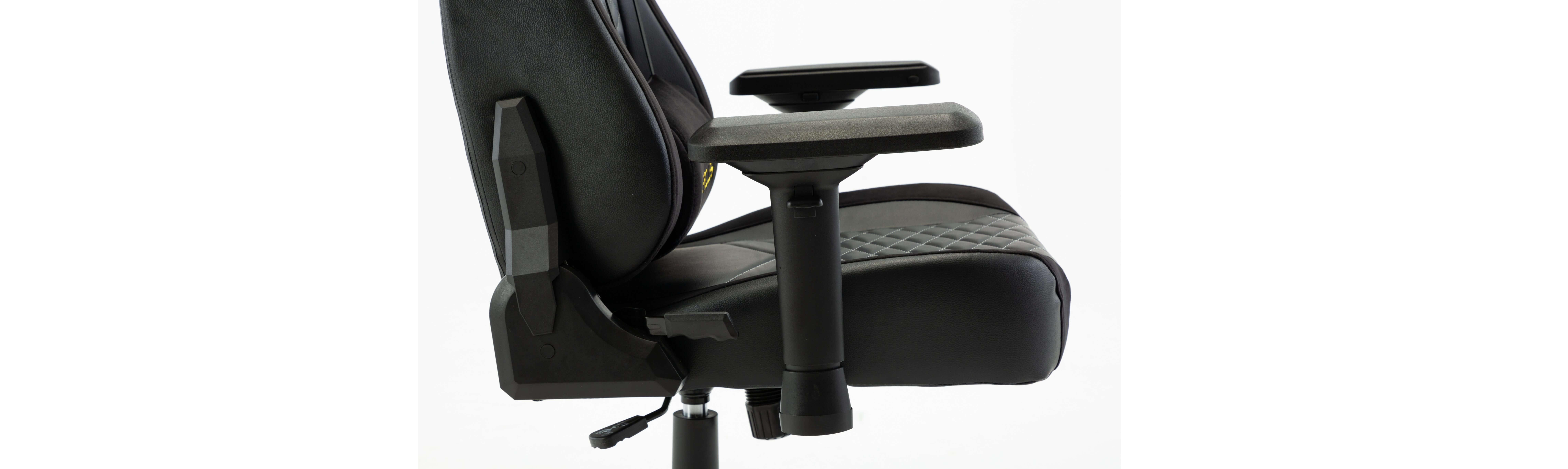 Ghế gamer E-Dra Hercules EGC203 Pro Black/White có thiết kế với độ hoàn thiện tốt