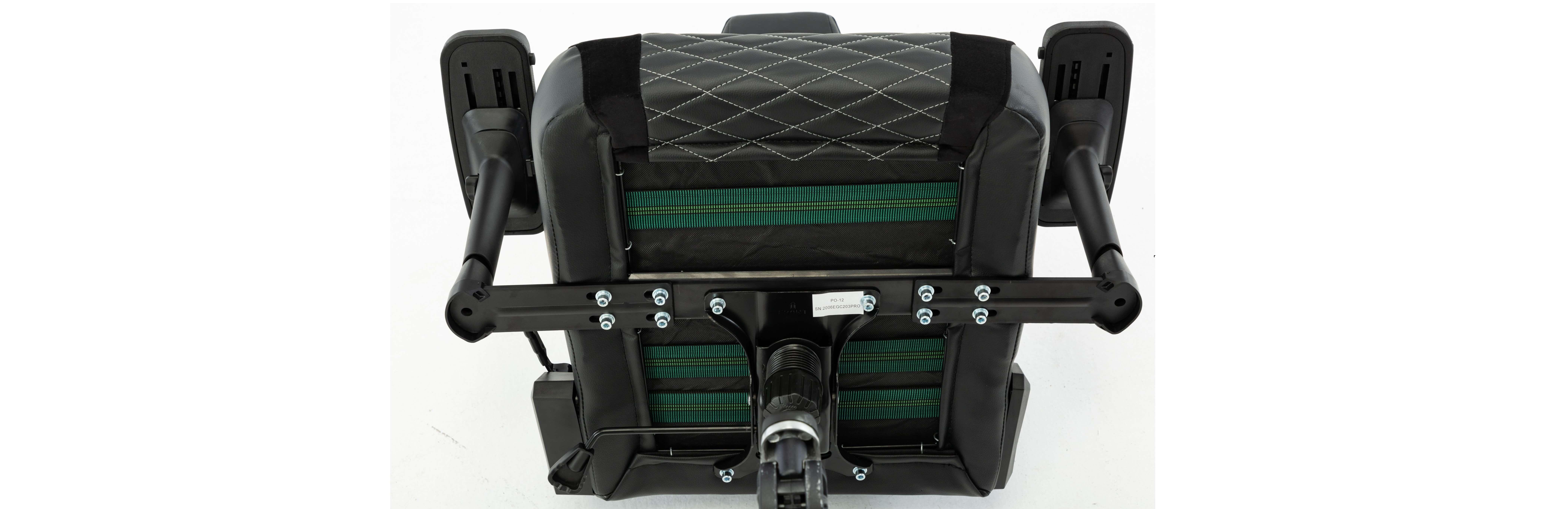 Ghế gamer E-Dra Hercules EGC203 Pro Black/White có cấu tạo khung bằng thép cực kỳ chắc chắn