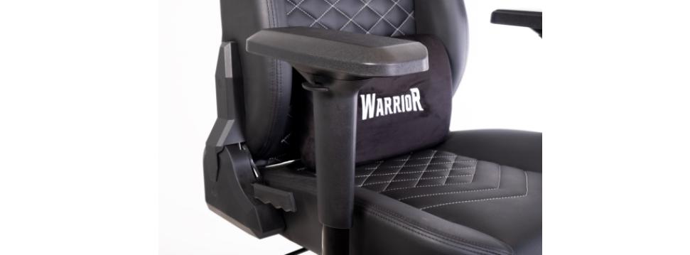Ghế Gamer Warrior Samurai Series Black (WGC911) trang bị tay ghế 4D thông minh