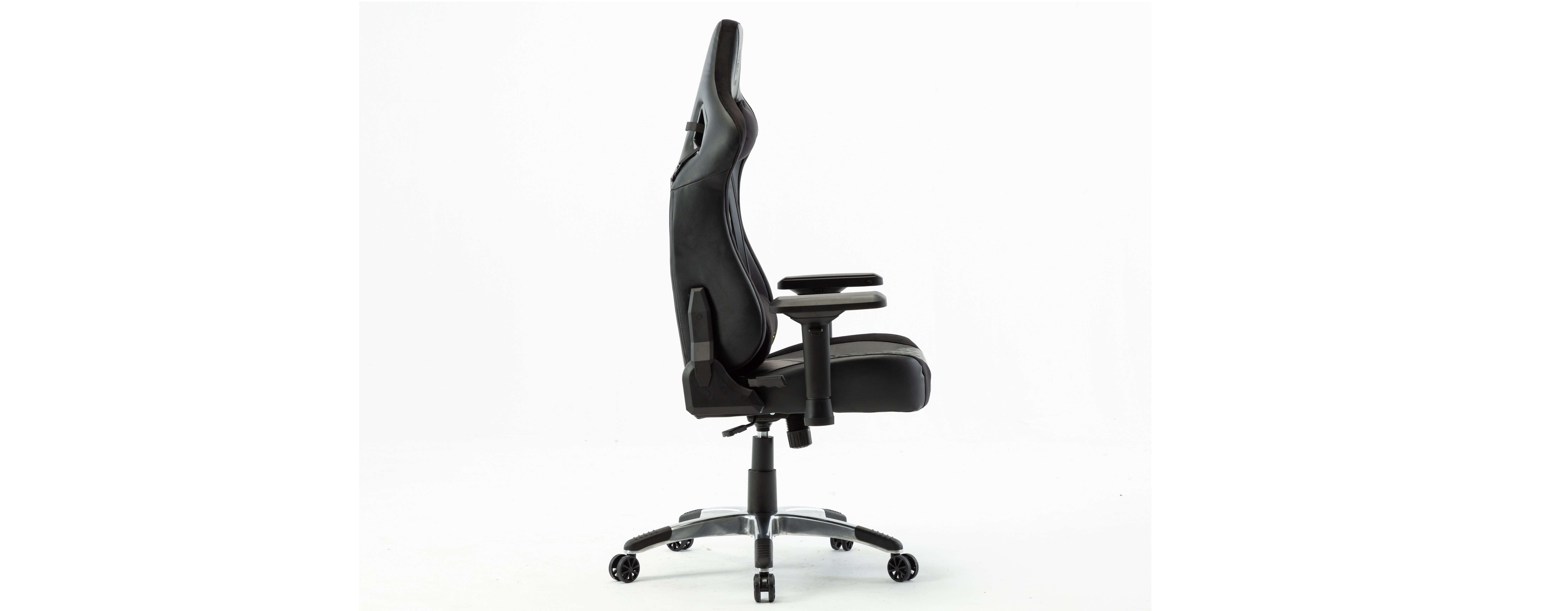 Ghế gamer E-Dra Hercules EGC203 Pro Black/Yellow có thiết kế công thái học ôm sát lưng