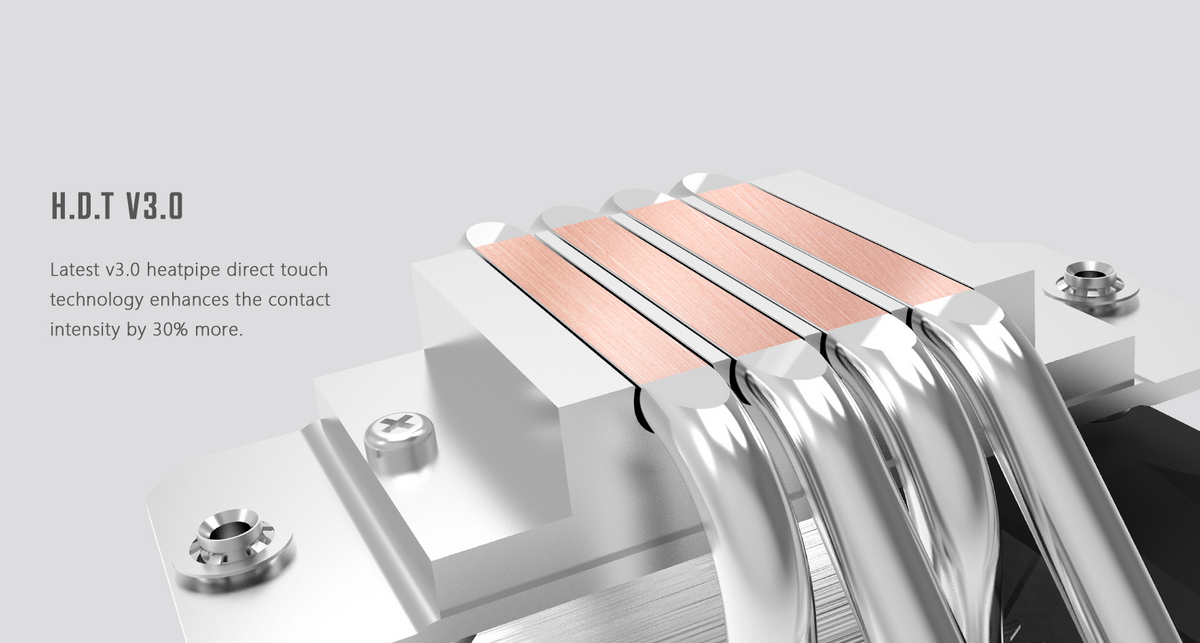 Tản nhiệt khí ID-Cooling CPU SE-224 XT Basic với khả năng tương thích với ram hoàn hảo, thậm chí đối với các mainboard ITX