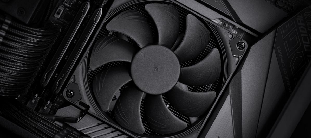 Tản nhiệt khí CPU Noctua NH-L9i CH.BK hoàn toàn tương thích với ram và các khe PCI