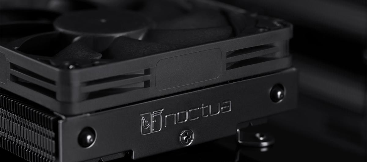 Tản nhiệt khí CPU Noctua NH-L9i CH.BK với tông màu đen tuyền tạo nên sự mạnh mẽ, đồng nhất về màu sắc
