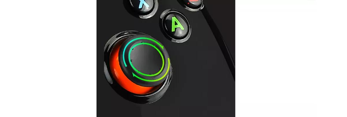 Tay cầm chơi game không dây PXN 9613W dành cho PC/Android/PS3/Smart Tivi có cụm analog mượt mà