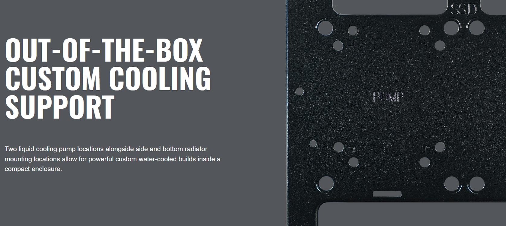 Cooler Master MasterBox NR200 White (Mini ITX Tower/Màu trắng) giới thiệu 7