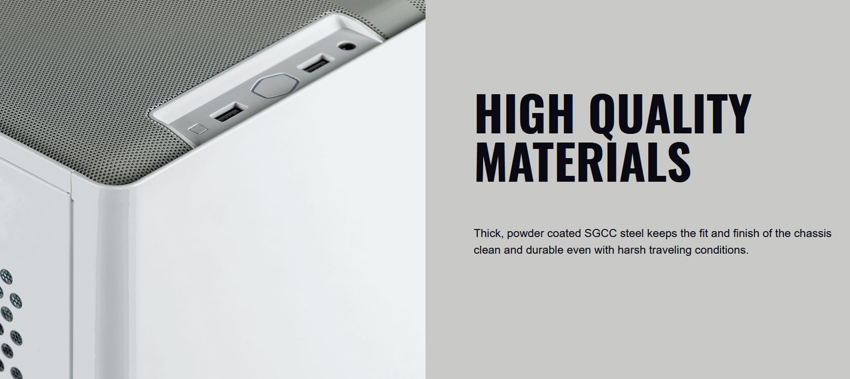 Cooler Master MasterBox NR200 White (Mini ITX Tower/Màu trắng) giới thiệu 6