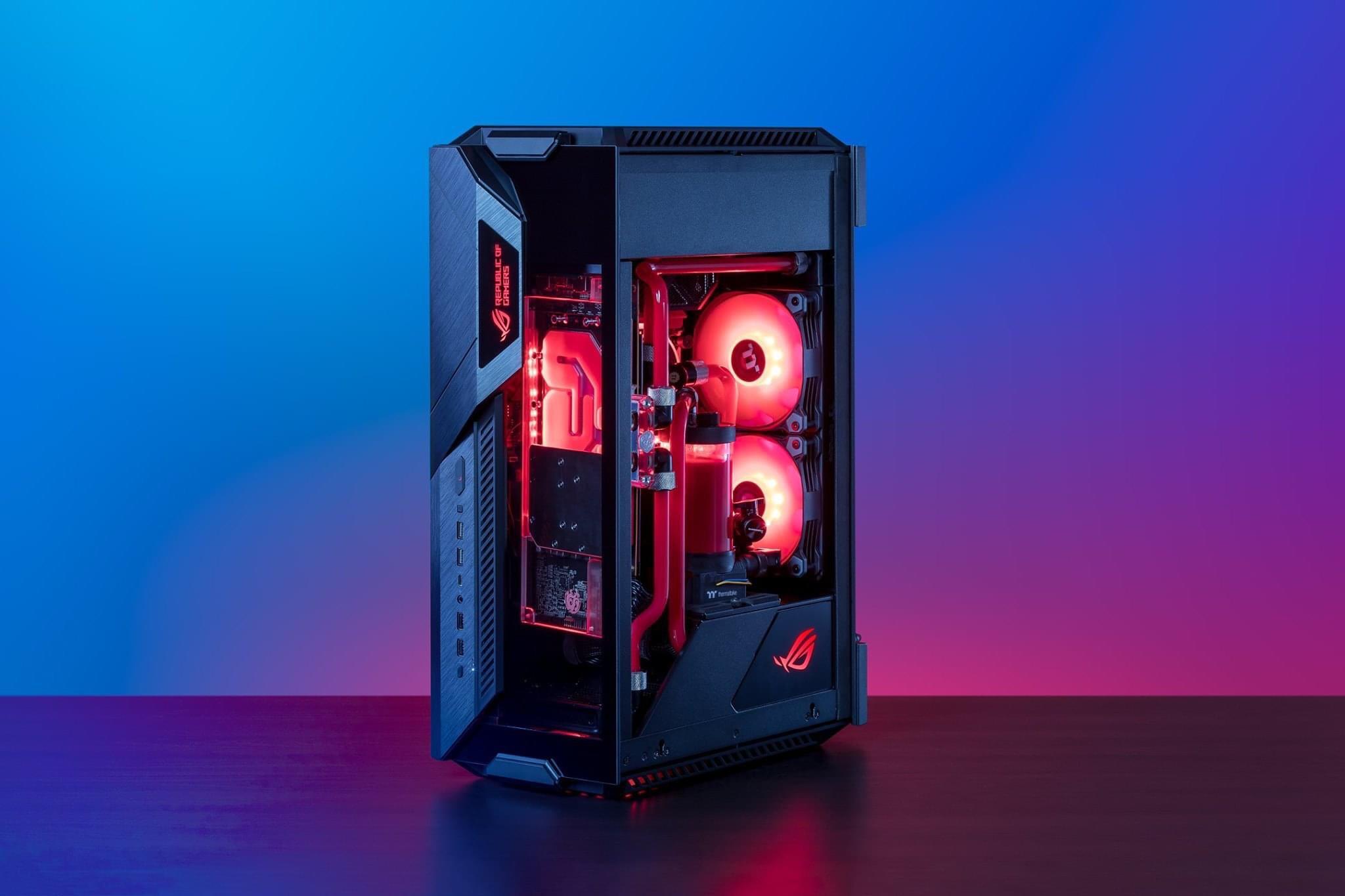 Asus ROG Z11 ITX (Mini ITX Tower/Màu đen) giới thiệu 5