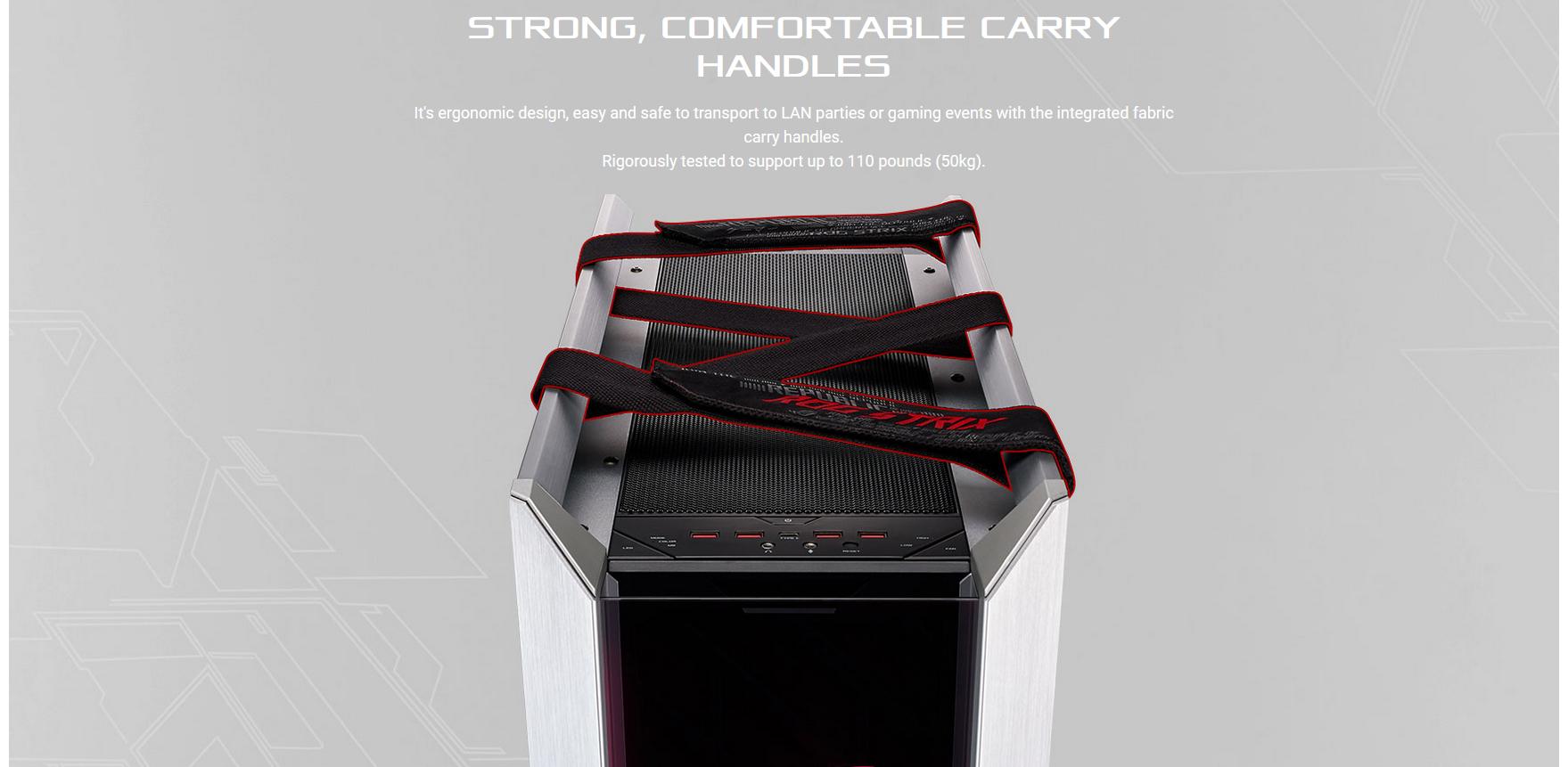 ASUS ROG Strix Helios GX601 White Edition (Mid Tower/Màu Trắng) giới thiệu 7