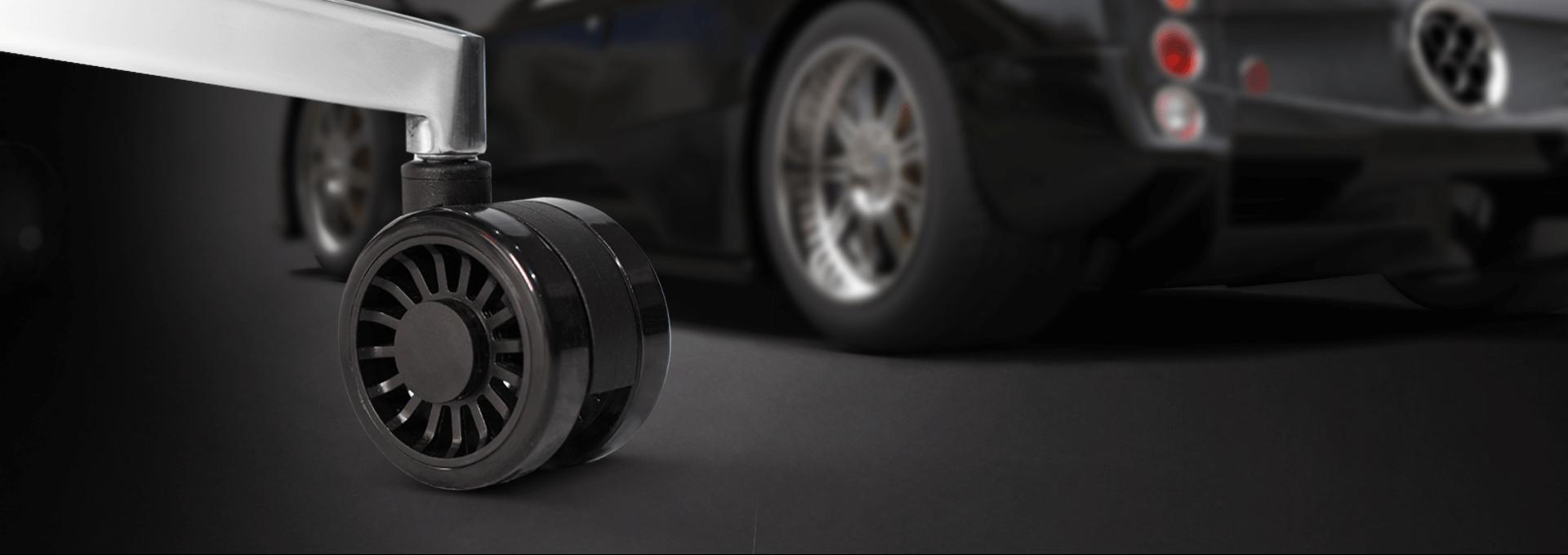 Ghế Gamer CoolerMaster Caliber X1 (CMI-GCX1-2019) trang bị bánh xe có thể di chuyển thoải mái
