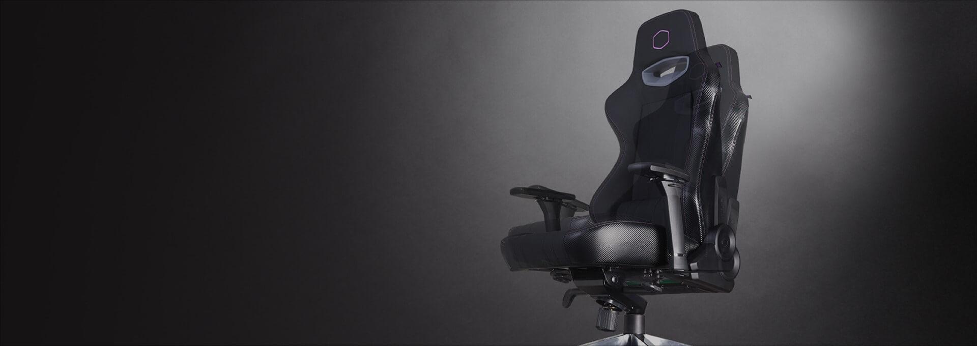 Ghế Gamer CoolerMaster Caliber X1 (CMI-GCX1-2019) có bệ đỡ con cóc có tính năng rocking khoá góc ngả tiện lợi