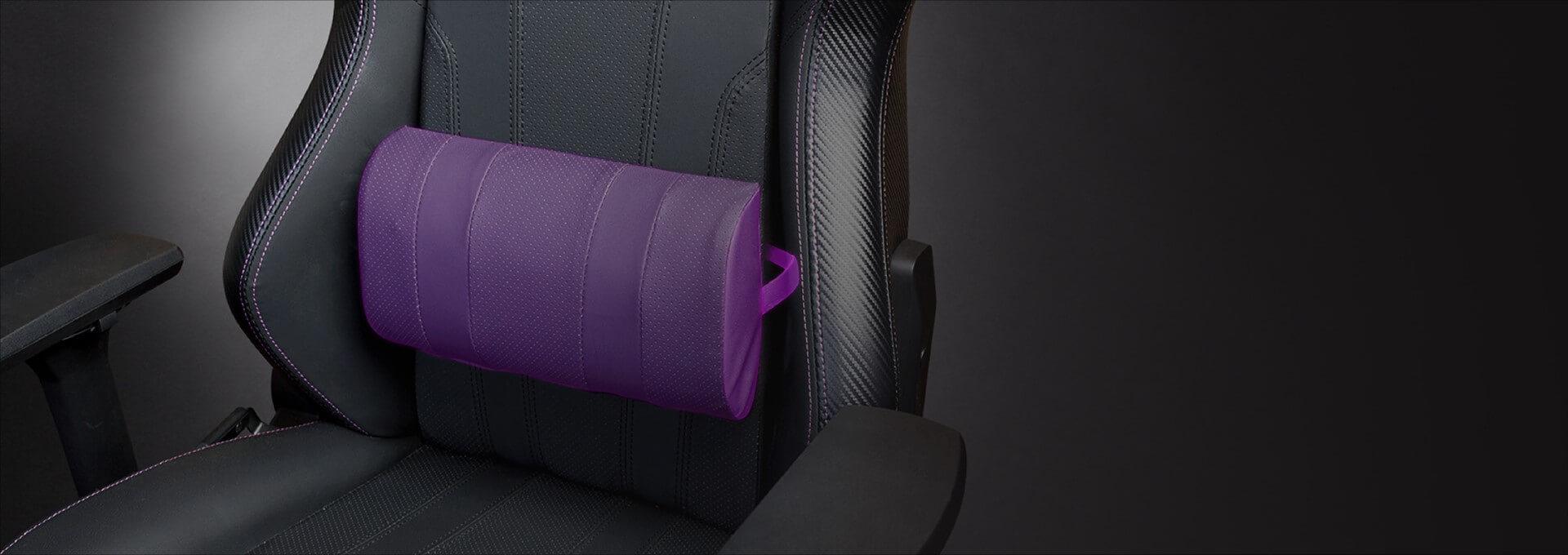 Phần đệm và gối của Ghế Gamer CoolerMaster Caliber X1 (CMI-GCX1-2019) có nhiều lỗ thoát khí tránh thích tụ nhiệt