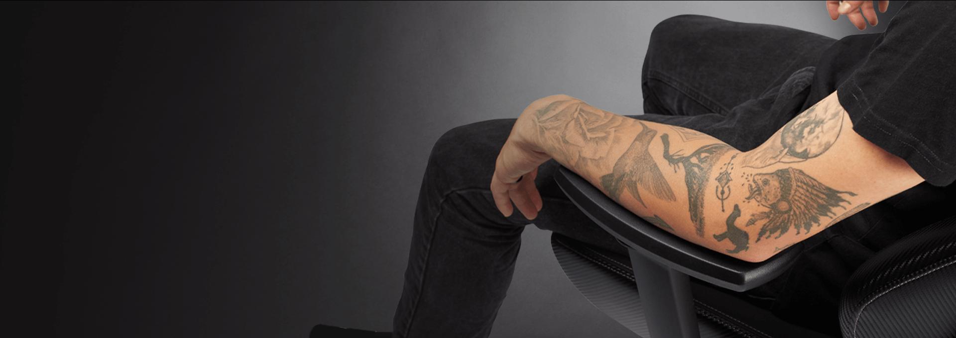 Ghế Gamer CoolerMaster Caliber X1 (CMI-GCX1-2019) trang bị kê tay 4D giúp điều chỉnh tay tiện lợi