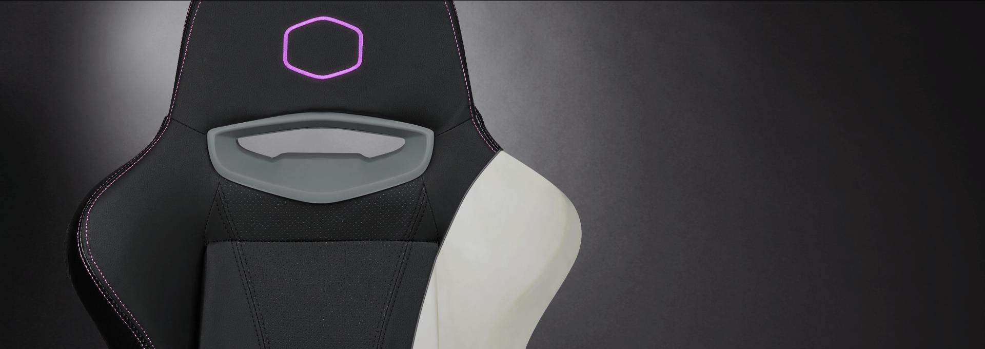Ghế Gamer CoolerMaster Caliber X1 (CMI-GCX1-2019) có thiết kế đệm ngồi bằng đệm bọt biển cực kỳ thoải mái