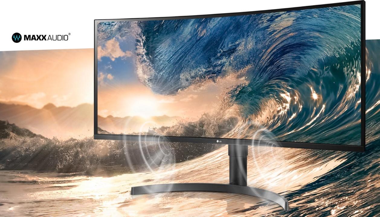 Màn hình LG 35WN75C-B maxx audio
