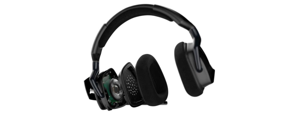 Tai nghe chơi game Corsair VOID RGB ELITE USB 7.1 Carbon - CA-9011203-AP có dải âm thanh chất lượng cao