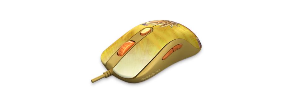 Chuột AKKO AG325 Dragon Ball Super-GOKU SSG  sử dụng switch Omron chất lượng