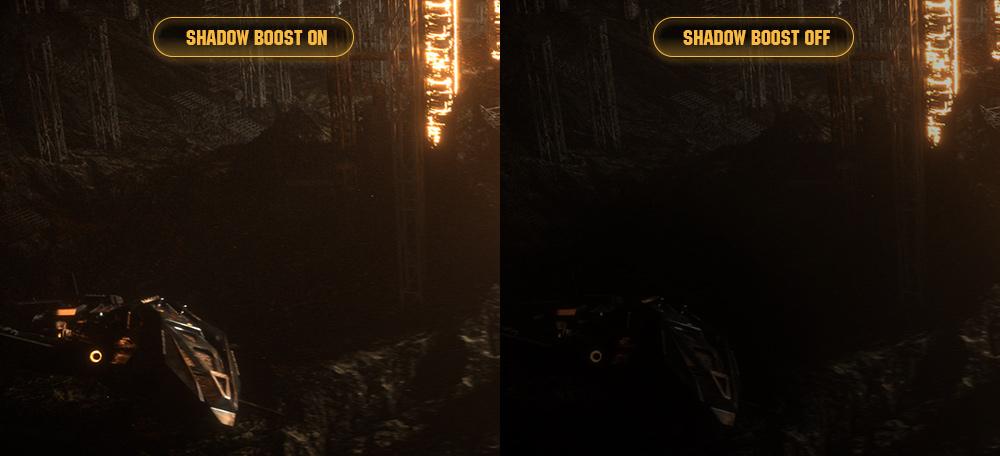 Màn hình Asus VG27VH1B shadow on