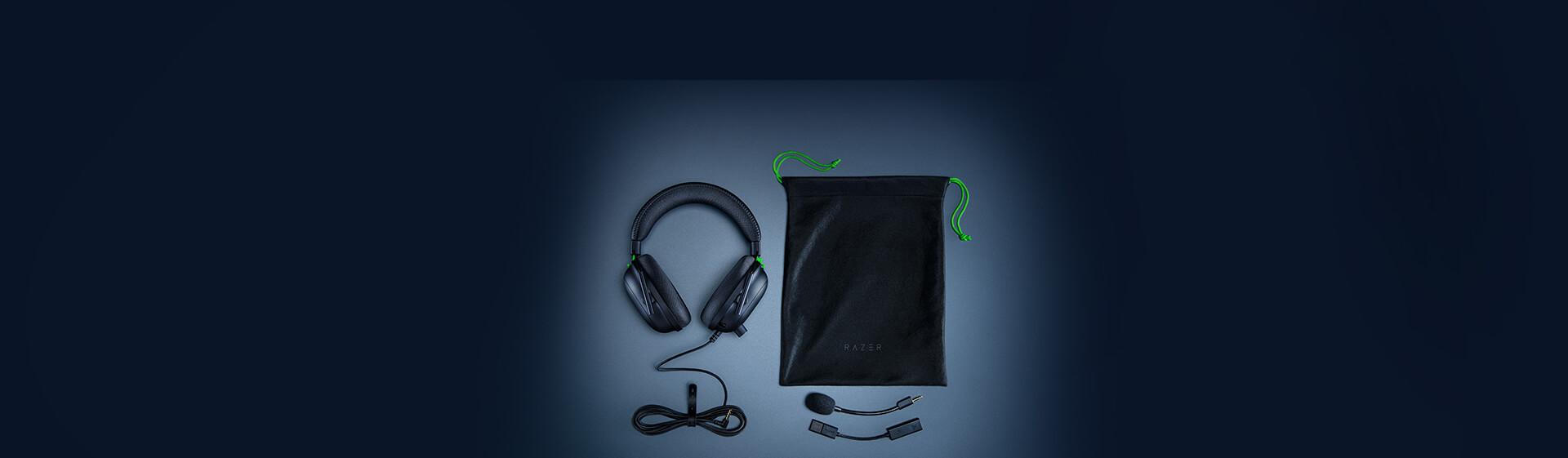 Tai nghe Razer BlackShark V2 - Wired Gaming Headset + USB Sound Card - RZ04-03230100-R3M1 tương thích với nhiều nền tảng