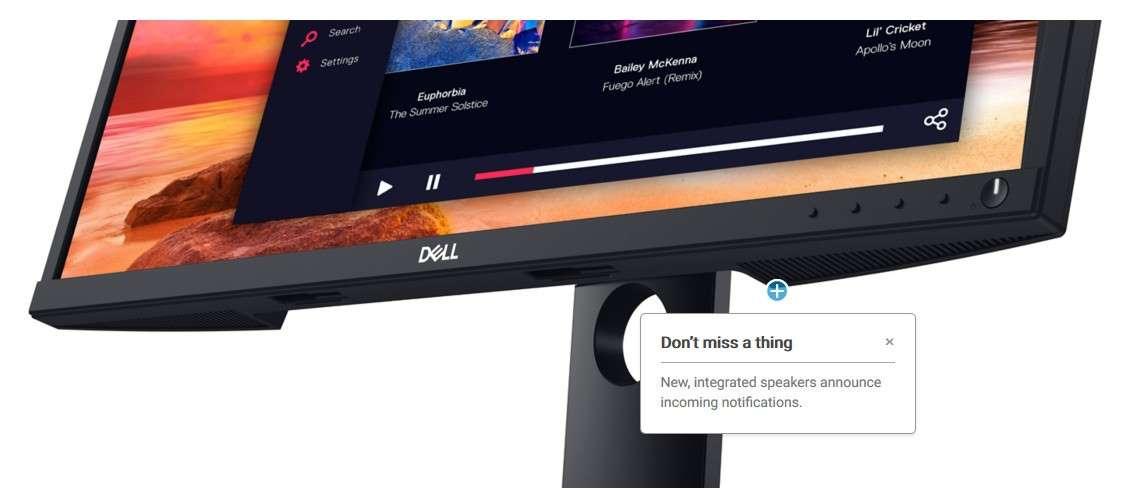 Màn hình Dell E2420HS loa tích hợp