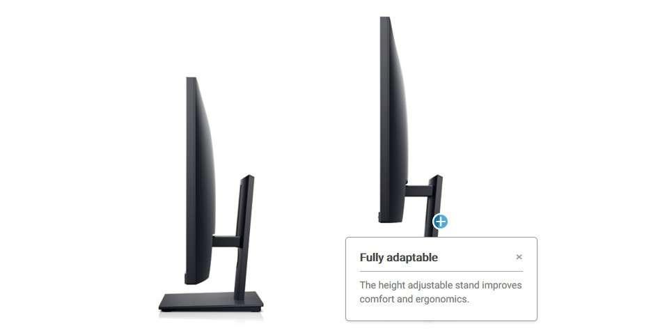 Màn hình Dell E2420HS giá đỡ thông minh