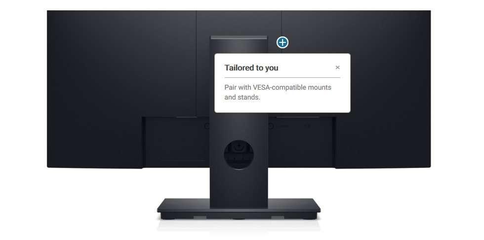 Màn hình Dell E2420HS tương thích vesa
