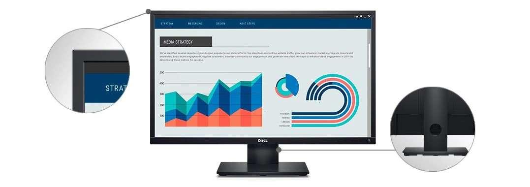 Màn hình Dell E2420HS quản lý màn hình