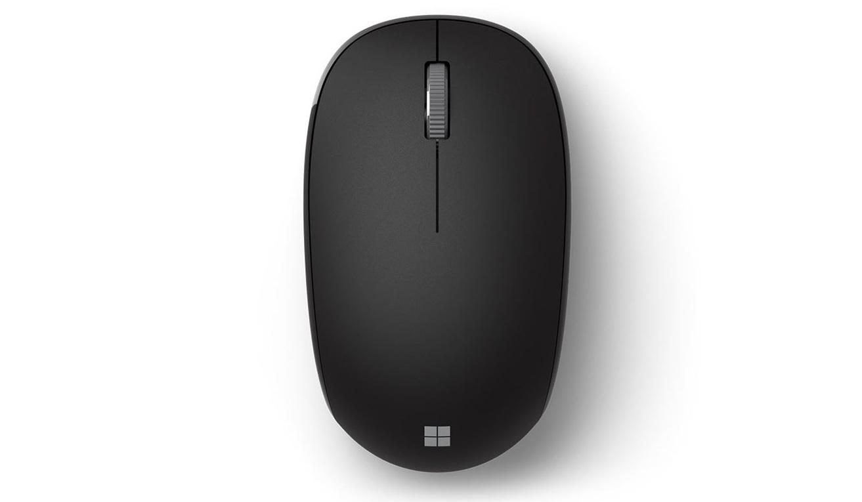 chuột của Bộ bàn phím chuột không dây Microsoft Bluetooth (màu xám) (QHG-00047) có nhiều tính năng hữu ích