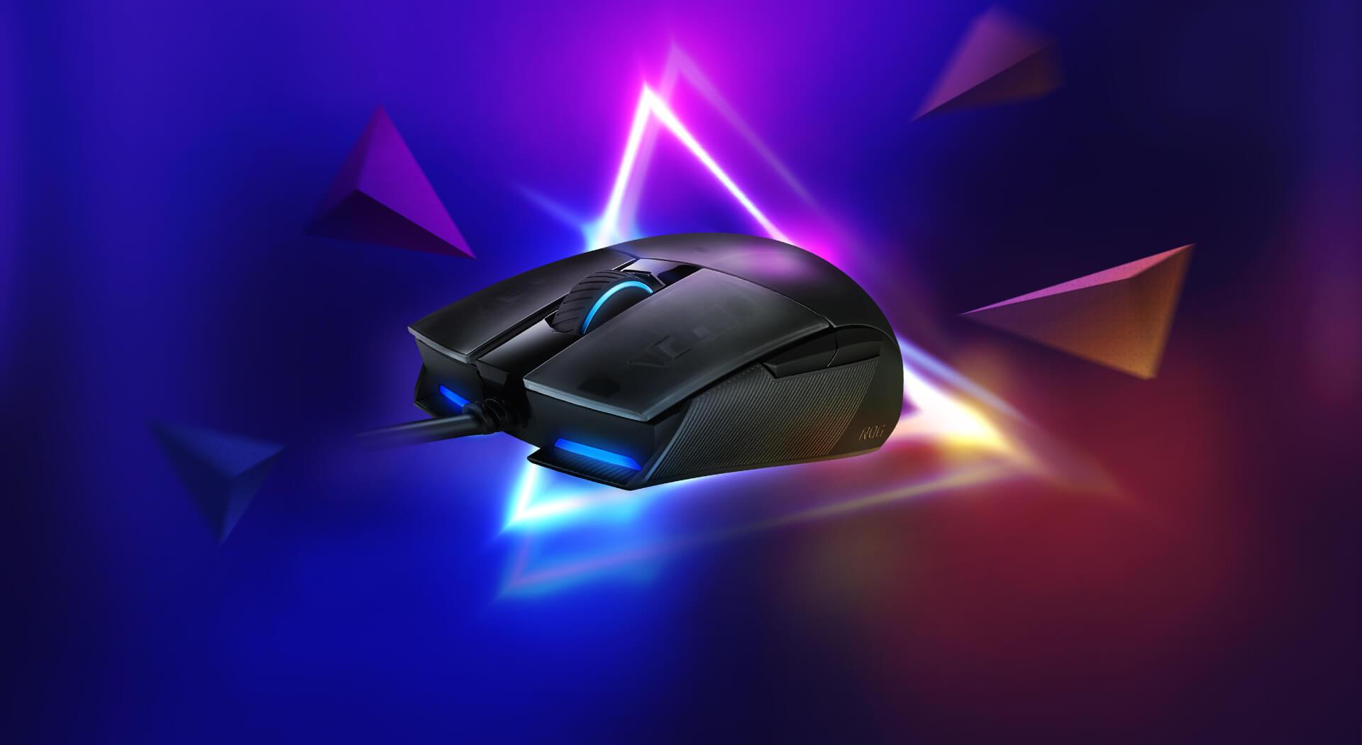 Giới thiệu Chuột Asus ROG Strix Impact II (USB/RGB/Đen)