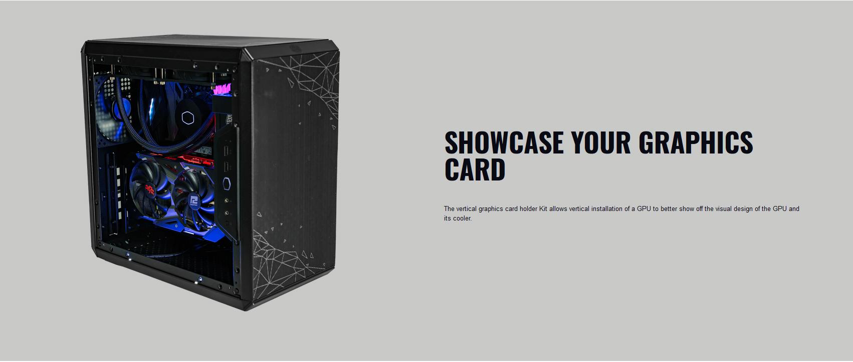 Riser Cooler Master VERTICAL GRAPHICS CARD HOLDER KIT V2 giới thiệu 2