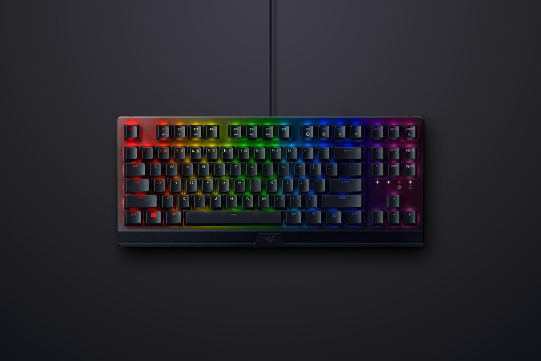 Giới thiệu Bàn phím cơ Razer Blackwidows V3 Tenkeyless (USB/RGB/Green switch/Đen) (RZ03-03490100-R3M1)