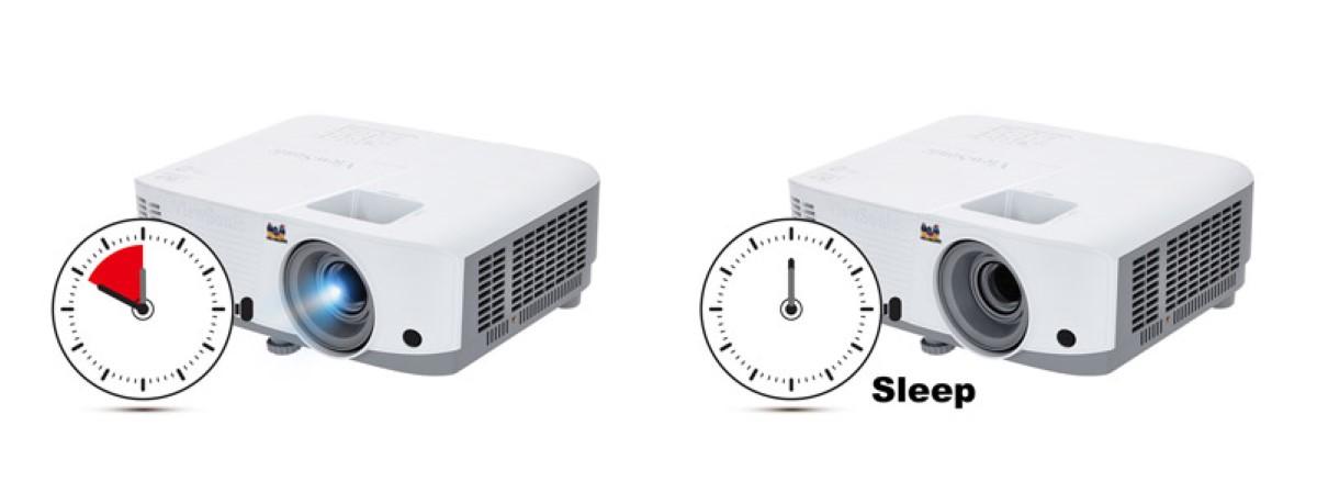 Chế độ hẹn giờ Máy chiếu đa năng Viewsonic PA503XB
