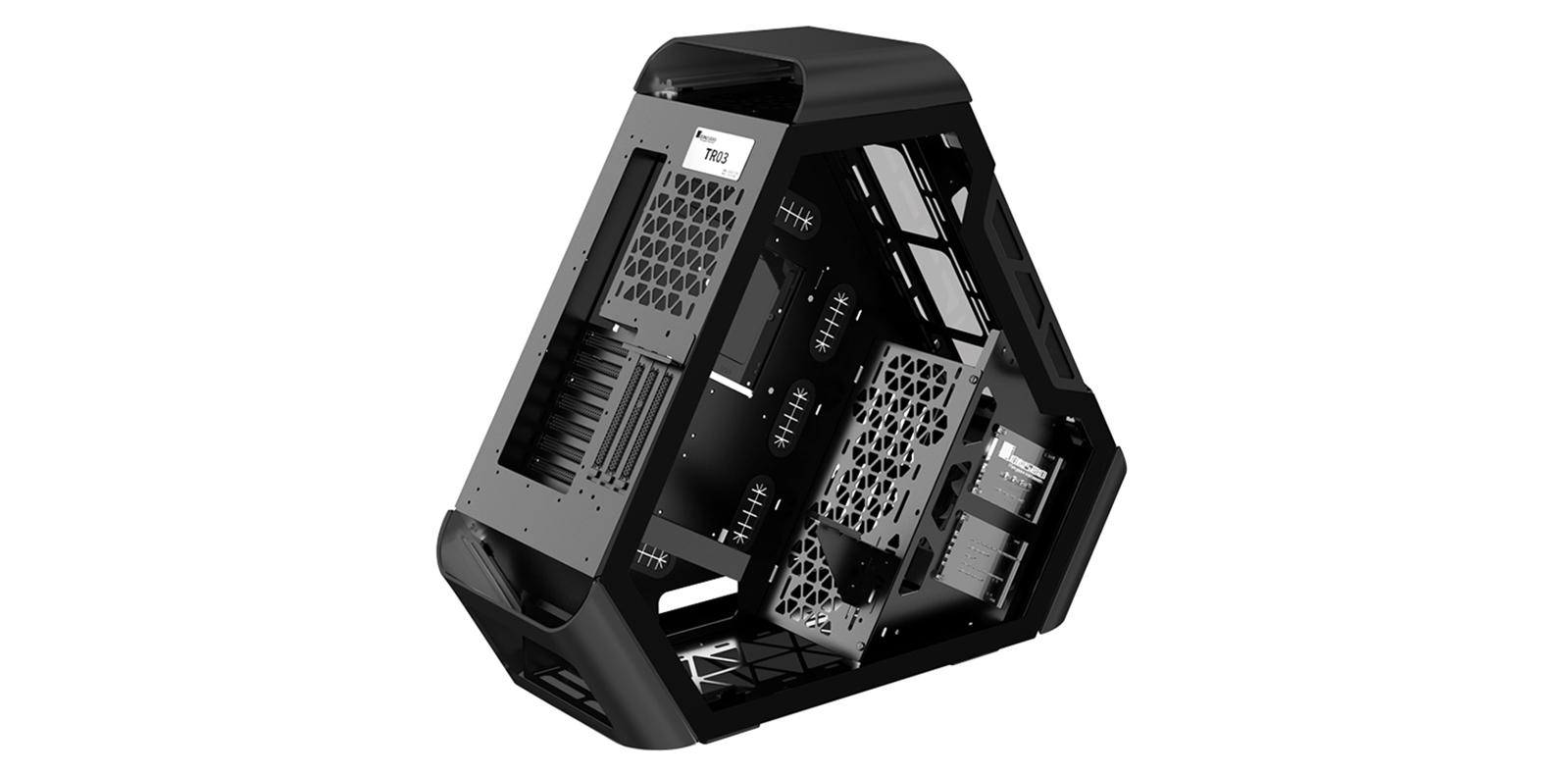 case Jonsbo TR03 - G Black (Mid Tower/Màu Đen) giới thiệu 4