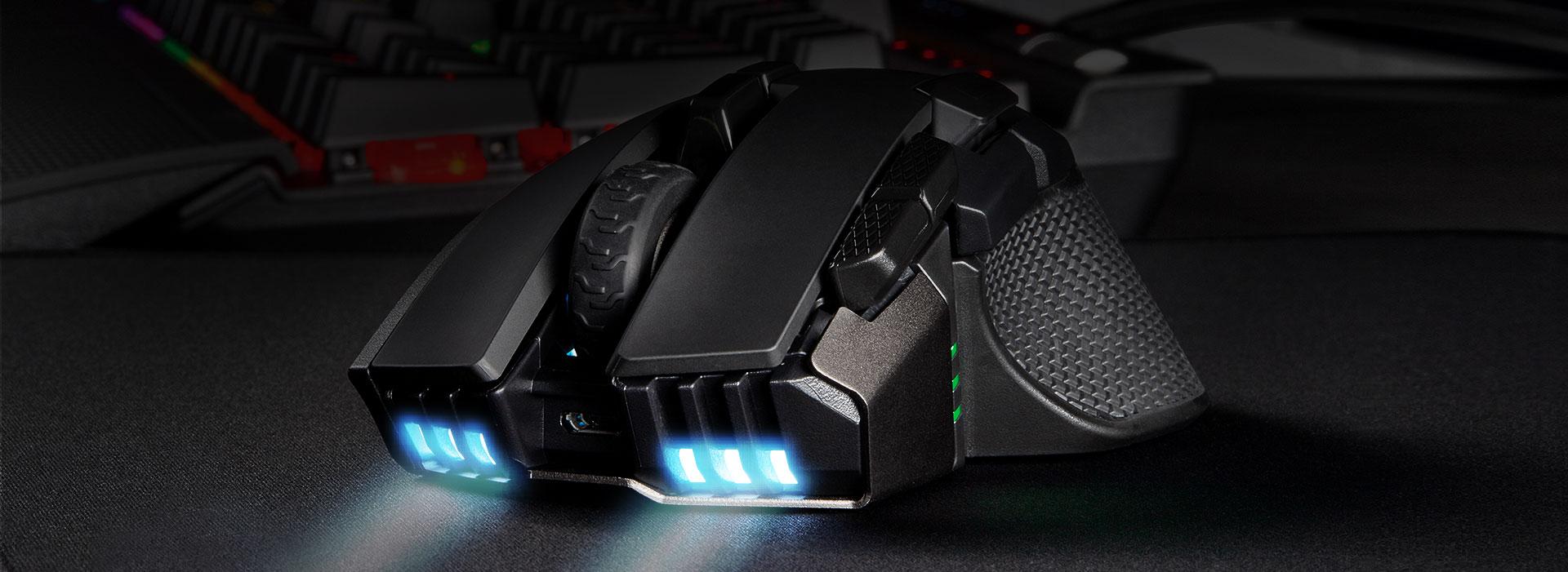 Giới thiệu Chuột không dây Corsair Iron claw RGB (USB/RGB/Đen) (CH-9317011-AP)